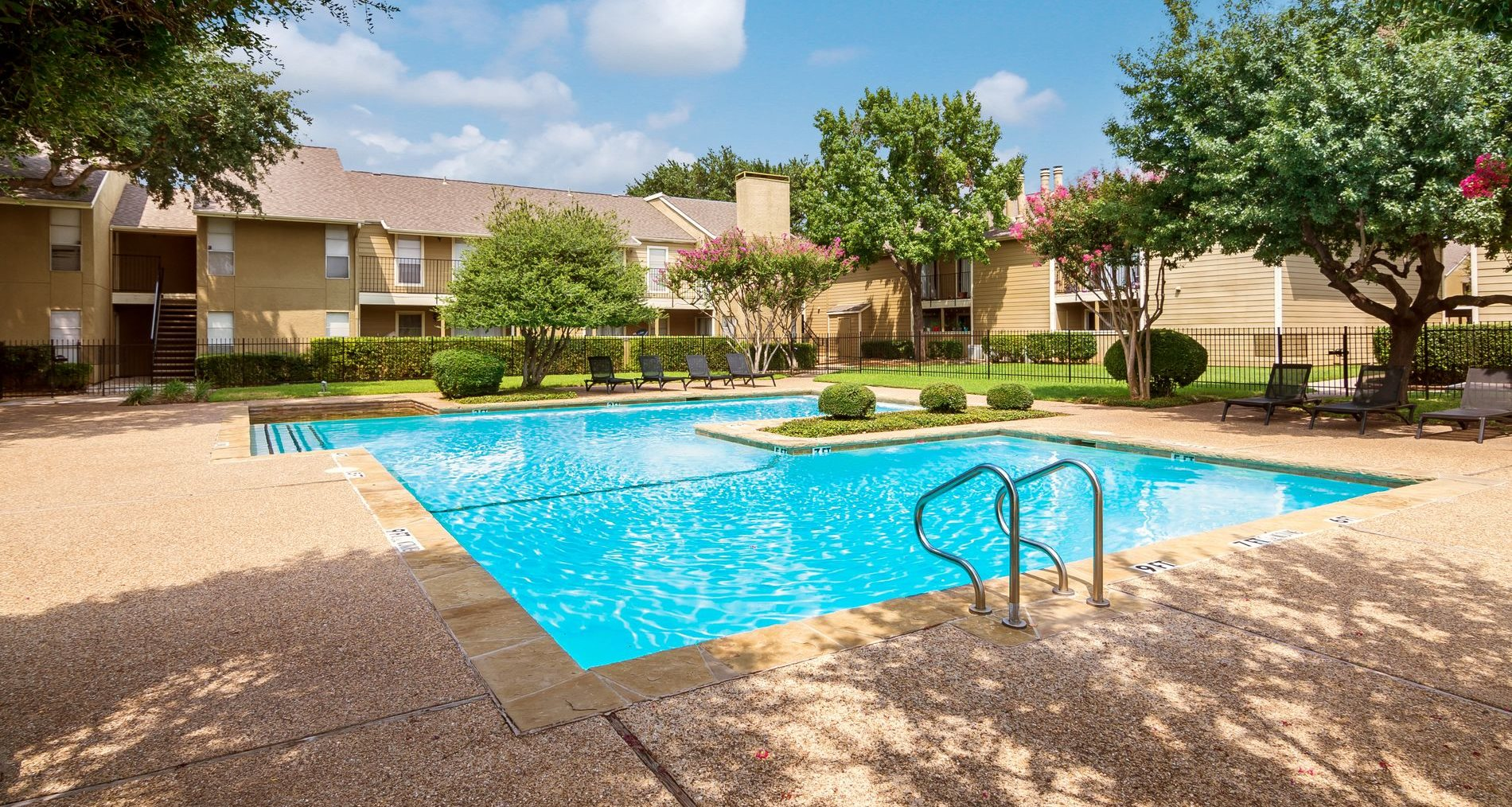 Pool at Windridge Apartments in Dallas, Texas, TX