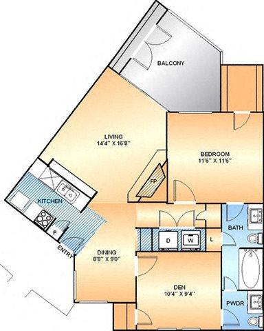 Daffodil Floor Plan 4