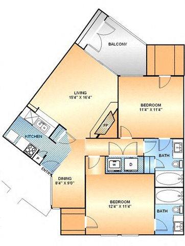 Tulip Floor Plan 5