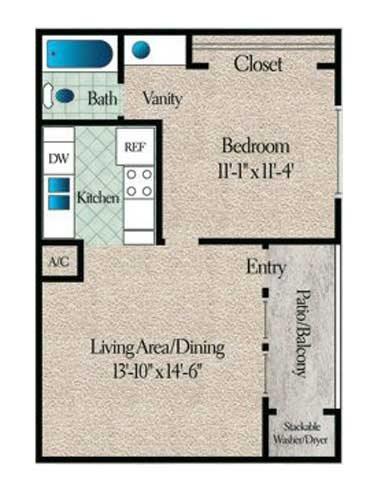 Ozark Floor Plan 1