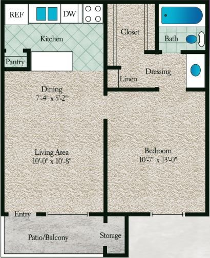 Maple Wood Floor Plan 2