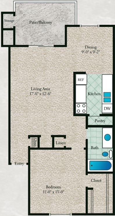 Cotton Wood Floor Plan 3