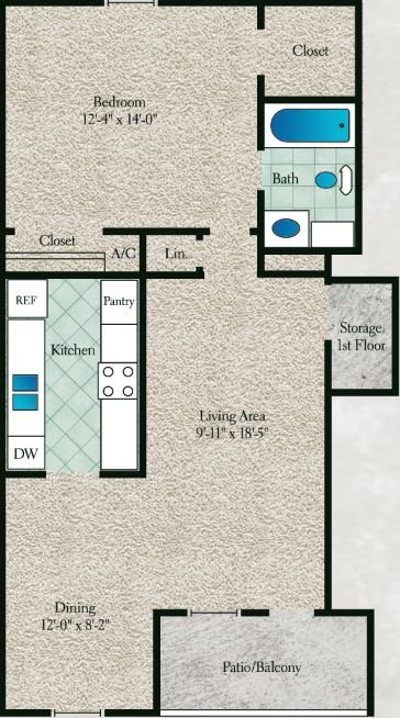 The Willow Floor Plan 4
