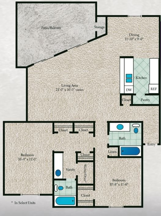 Oak Wood Floor Plan 8