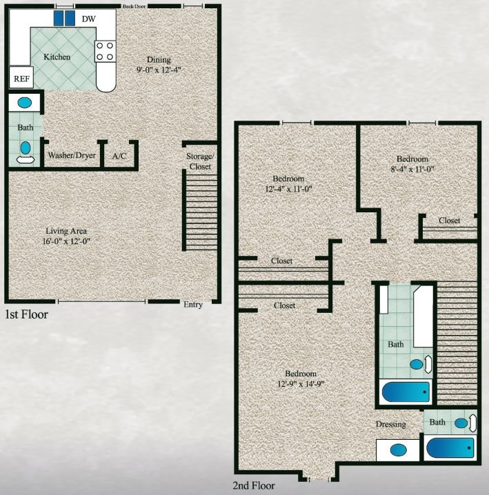 The Cypress Floor Plan 9