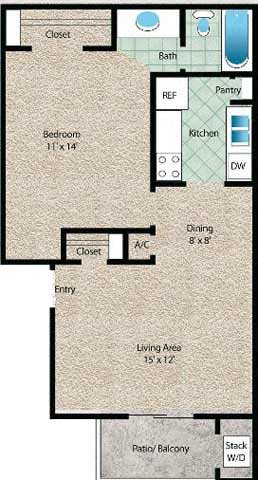 La Arena Floor Plan 1