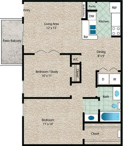 La Costa Floor Plan 6