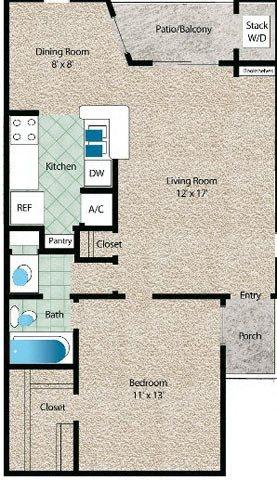 La Fuente Floor Plan 3