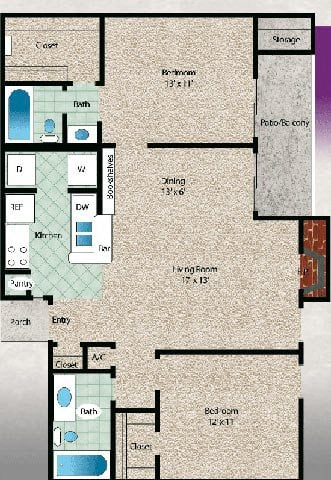 El Lago Floor Plan 9