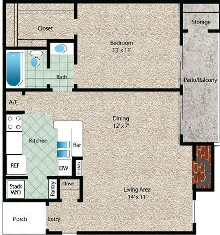 La Luna Floor Plan 4