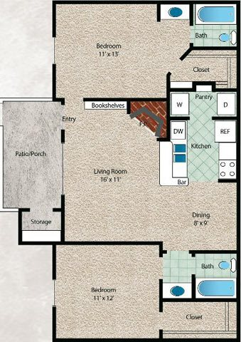 El Mar Floor Plan 8