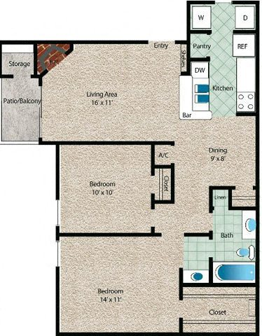 La Marina Floor Plan 7