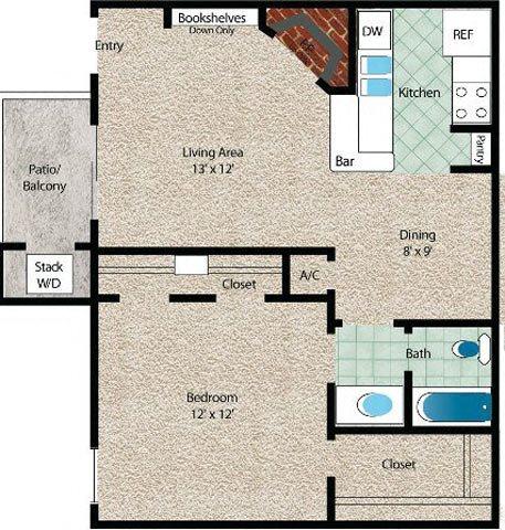 La Palma Floor Plan 2