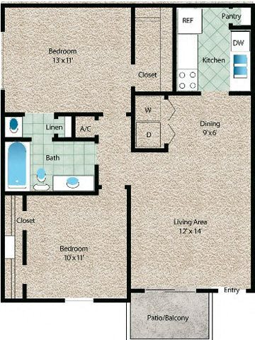 La Vista Floor Plan 5