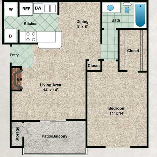 Evergreen Floor Plan 3