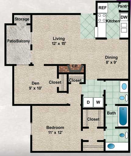 Laurel Oak Floor Plan 4