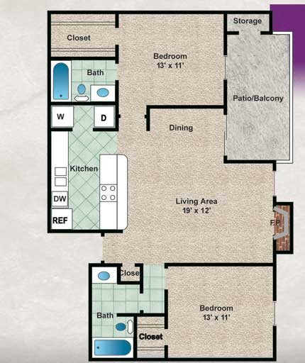 The Bradford Floor Plan 6