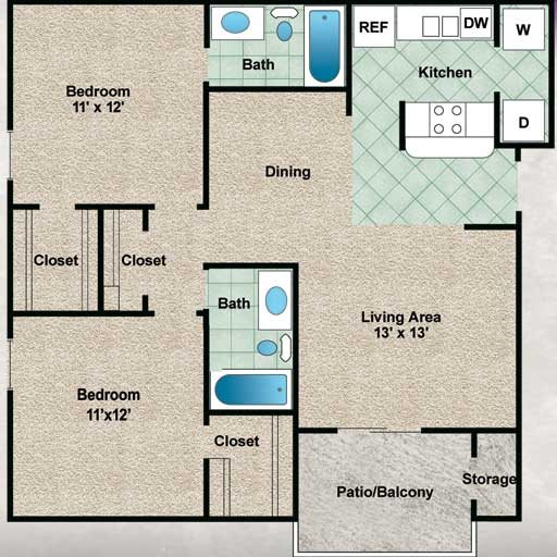 Live Oak Floor Plan 5