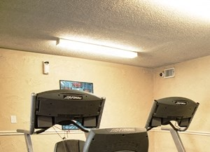 Cardio Fitness Equipment at Indian Creek Apartments