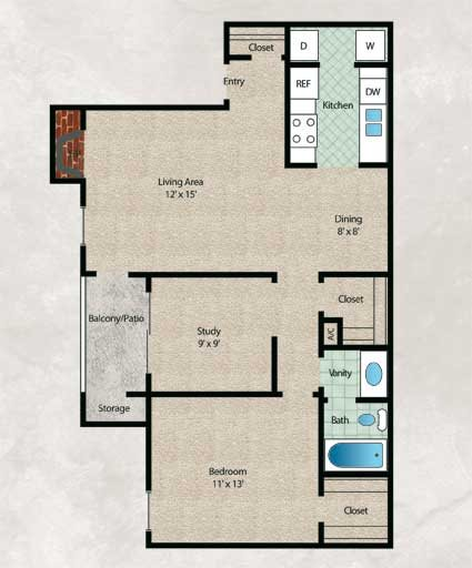 Cypress Floor Plan 3