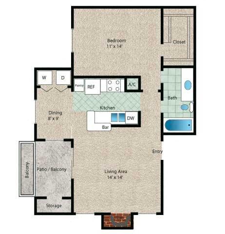 Aruba Floor Plan 3