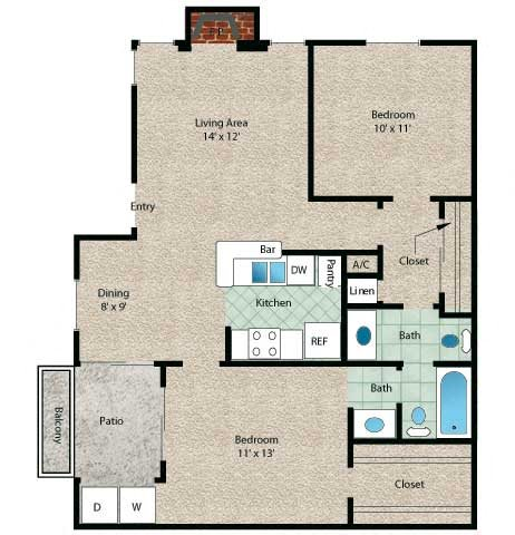 Cayman Floor Plan 4