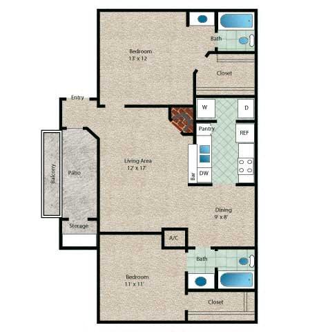 Tahiti Floor Plan 6