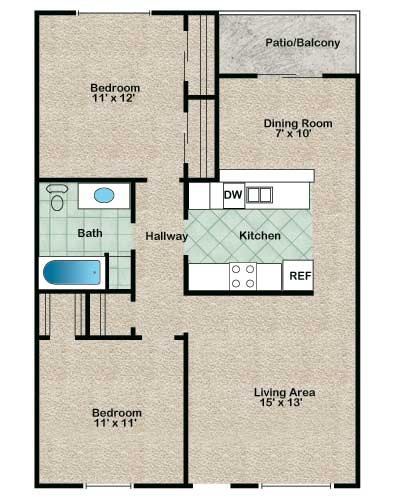 Seminole Floor Plan 4
