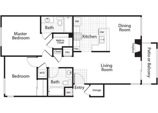 Diamond Floor Plan 6