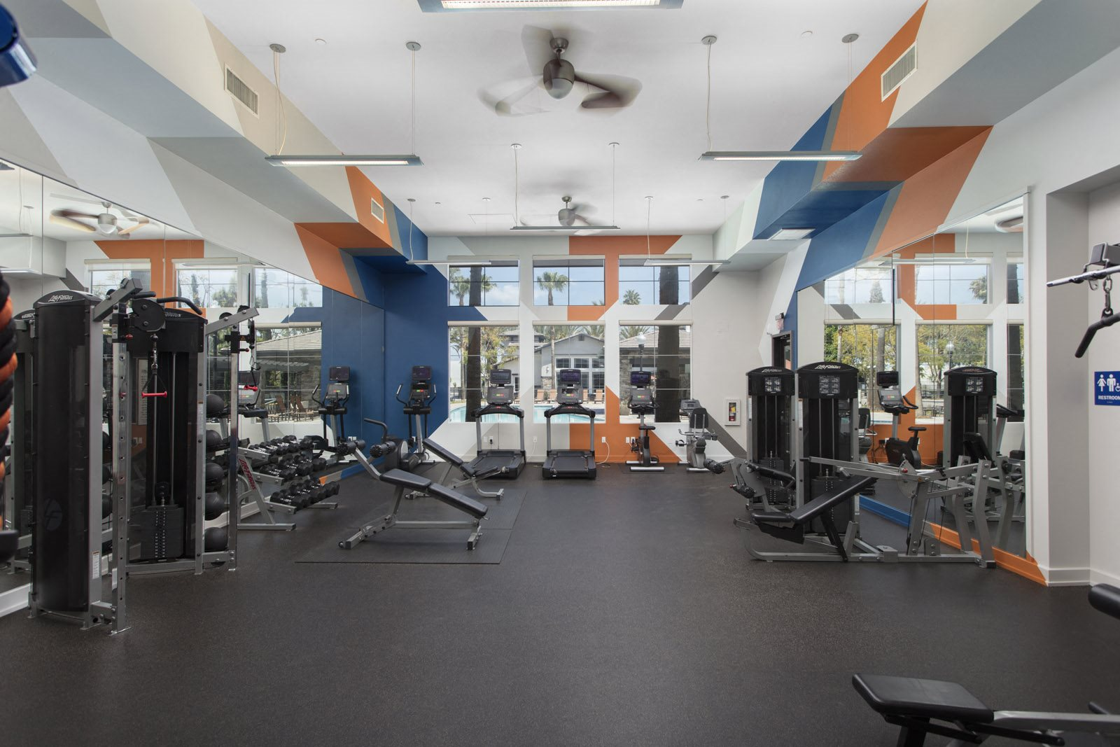 Apartments in Ontario CA-The Grove Apartments Fitness Center
