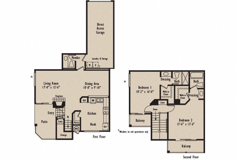 Plan D2 Floor Plan 4