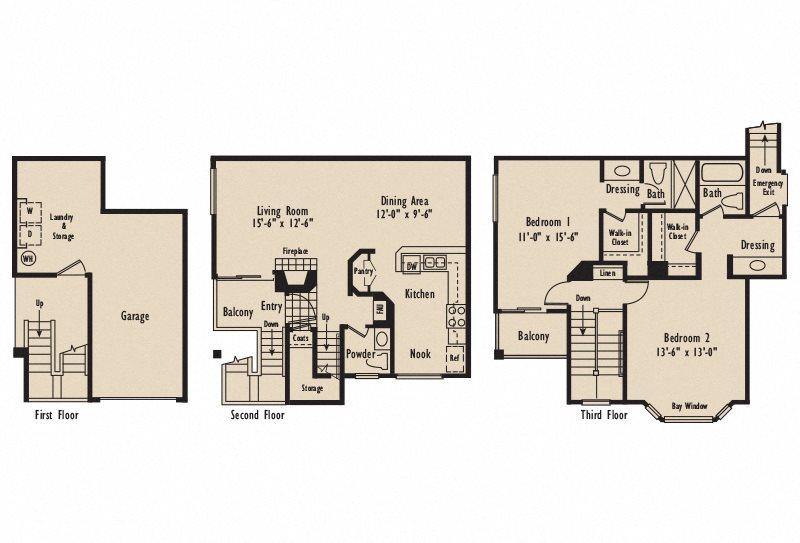Plan D6 Floor Plan 6