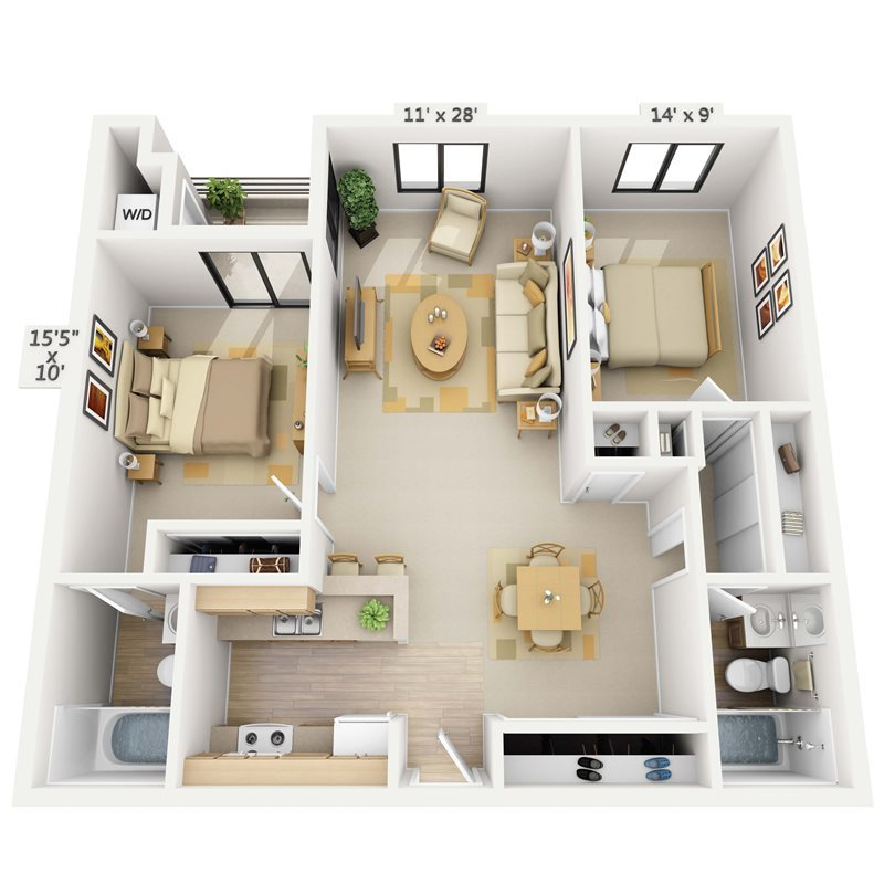 Shoreline Floor Plan 4