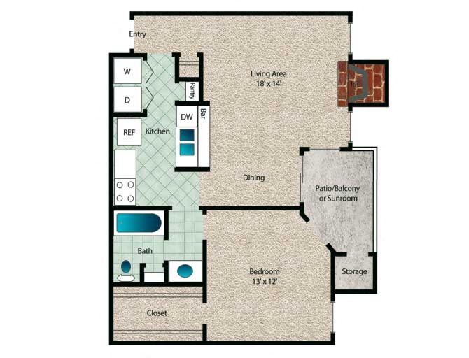 Redwood Floor Plan 2