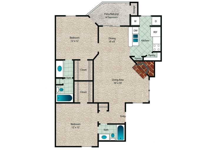 Cypress Floor Plan 7