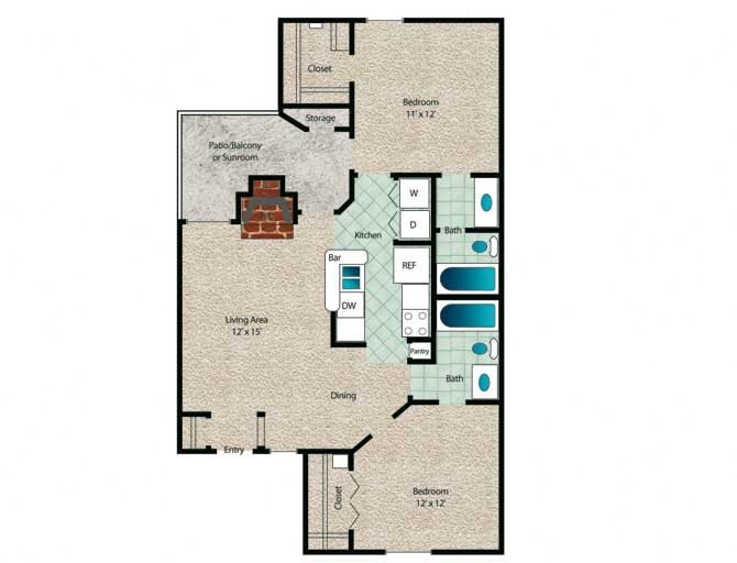 Sycamore Floor Plan 6