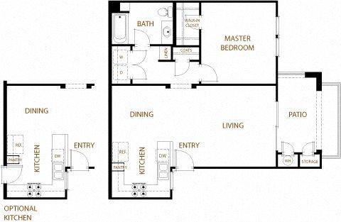 Napa Floor Plan 1