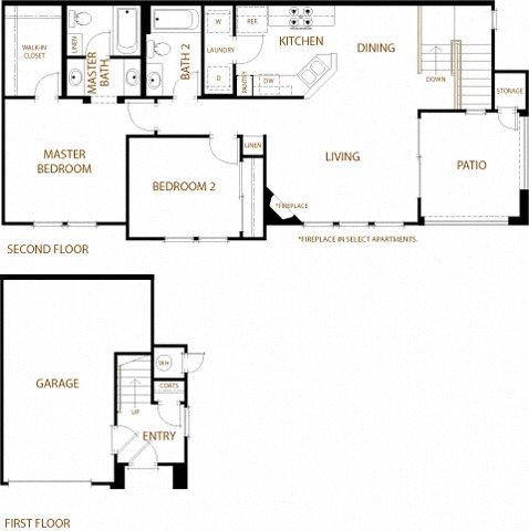 Sonoma Floor Plan 4