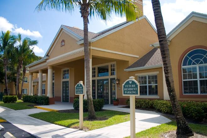 Renovated Leasing Office at Waverly, Florida