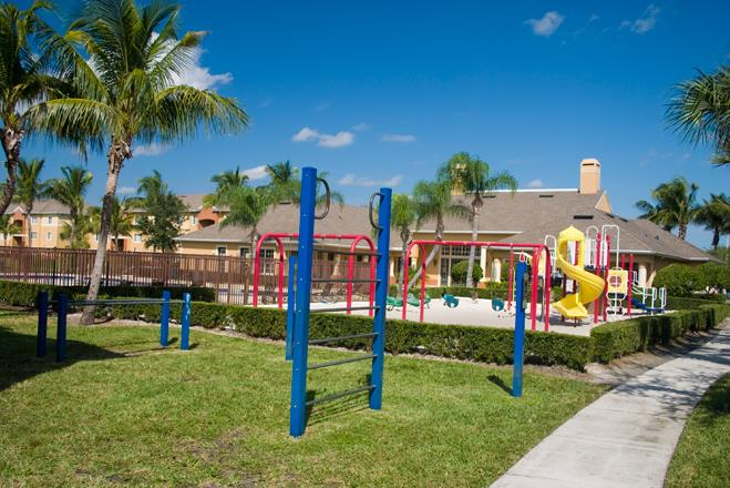 Outdoor Fitness Course at Waverly, Florida