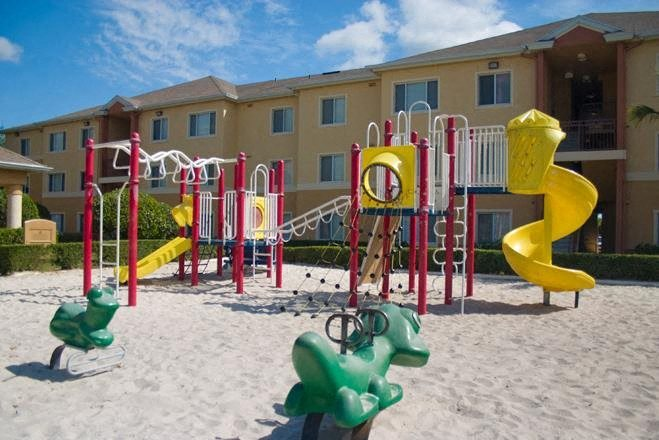 Child's play area at Waverly Apts in West Palm Beach FL