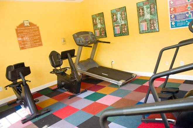 fitness center cardio at Waverly Apartments in West Palm Beach