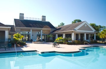 Swimming Pool with Sundeck at Whispering Pines, St Augustine