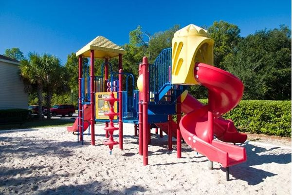 childrens play area at whispering pines apartments in st augustine fl