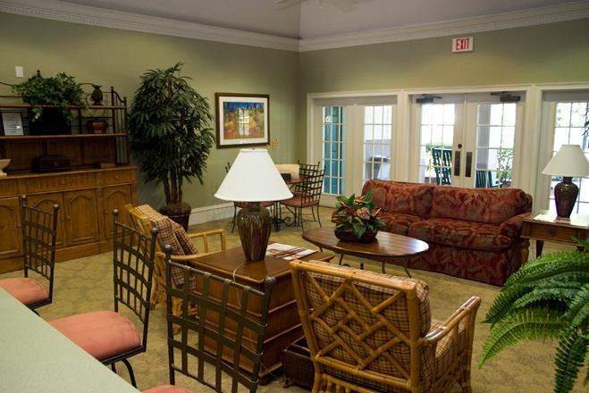 Clubhouse with Upgraded Interiors at Whispering Woods, St Augustine, FL, 32084