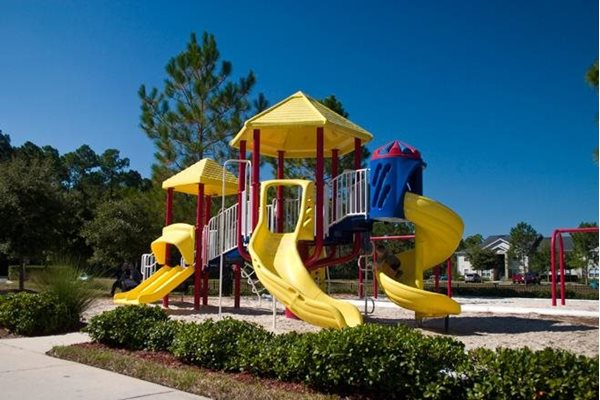 on location tot lot at whispering woods apartments in st augustine florida