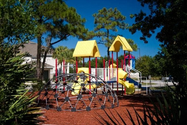 play area at woodcrest apartment rentals in st augustine