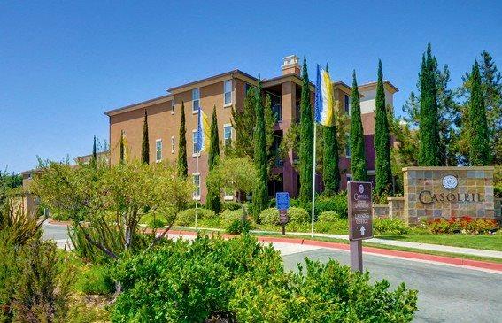 Private Gated Community, at Casoleil, San Diego, California