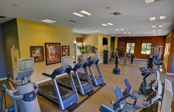 24-Hour Fitness Center, at Casoleil, CA, 92154