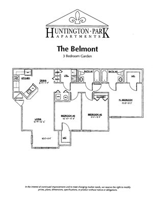 Three Bedroom Apartments  in Boalsburg, Pa | Huntington Park Apartments | Property Management, Inc.